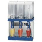Kall dryck dispenser, 3x 9 liter