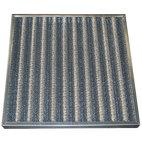 Anti-fettfiltret med metallgaller, 287x592x48 mm