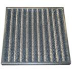 Anti-fettfiltret med metallgaller, 592x592x48 mm