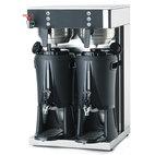 Kaffebryggare med 2 behållare 5 liter och 2 termosar 2,5 liter