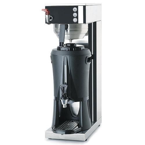 Kaffebryggare med en behållare 5 liter och 1 termos 2,5 liter