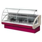 Kyld konditoribänk med 2 lådor, statisk kylning, +4 ° C / + 6 ° C, w 1400 mm