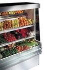 Kylt väggskåp för frukt med 3 hyllor, +5 ° C / + 7 ° C, w 1200 mm